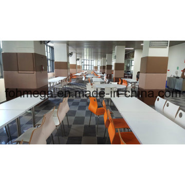 Chinese Fast Food Restaurant Tables and Chairs (FOH-CMY20)