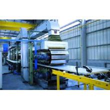 Linha de produção de painel sanduíche descontínuo de PU de alta velocidade