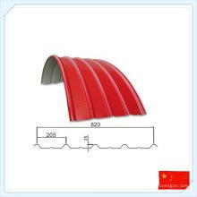 Chine Feuille de toit de plat de toit d'acier préfabriqué de Wiskind
