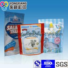 Bolso de empaquetado plástico del alimento del animal