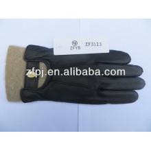 Heißer Verkauf Super weiche Hirschhaut warme lederne Handschuhe für Männer