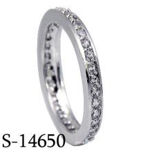 Anillo de bodas de la plata esterlina de la joyería 925 de la manera 2016 (S-14650)