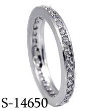 2016 mode bijoux en argent sterling 925 bague de mariage (S-14650)