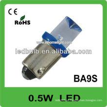 0.5W conduziu a lâmpada 12V automóvel ba9s conduziu
