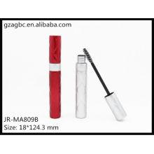Encantadora & vazio plástico redondo tubo de rímel JR-MA809B, embalagens de cosméticos do AGPM, cores/logotipo personalizado
