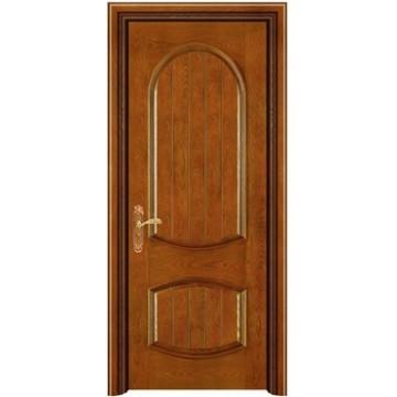 porta de madeira do inteiror