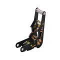 Preço de fábrica Preto Spray-paint Ratchet Buckle tie Down