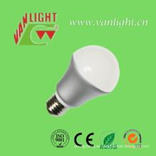 Lámpara LED E27 cálida luz 5 LED Watts