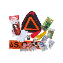 Автомобильный дорожный аварийный набор аварийных инструментов, предупреждающий треугольник