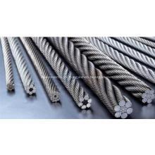 Cuerda de alambre de acero para la tracción del elevador