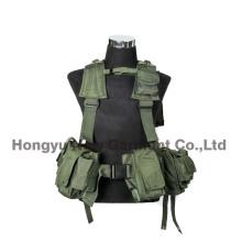 Caza de asalto táctico y chaleco de tiro para uso militar (HY-V060)