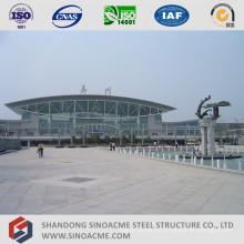 Steel Pipe Truss Structure Roof para la estación de ferrocarril
