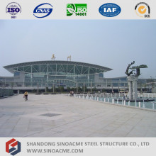 Steel Pipe Truss Structure Roof for Railway Station