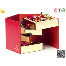 Multilayer Cassette/ Multilayer Paper Chocolate Box / Multilayer Paper Cake Box (mx-107)