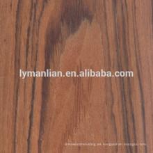 Chapa de madera reconstituida decorativa de los muebles de chapa de madera de nogal / roble / teca