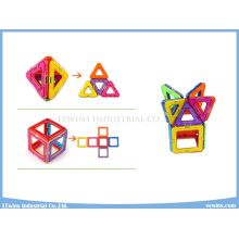 14 STÜCKE 3D DIY Spielzeug Weisheit Magnetische Spielzeug Puzzle Lernspielzeug