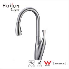 Haijun 2017 China Products cUpc 0.1~1.6MPa Single Handle Kitchen Sink Faucet