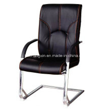 Popular Leather Office Chairs Meeting Chair with Chrome Frame
