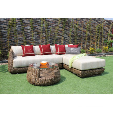 Classic style Water Hyacinth Modular Sofa Set for Living room