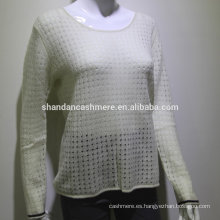 Suéter de la cachemira de las mujeres suéter puro de la cachemira suéter 2016 de la venta caliente de la fábrica