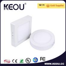 CE/RoHS comercial/interior 2700k - 6500k ronda llevó luz de Panel de techo
