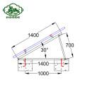 Solar Panel Mounting System Aluminum Rail Bracket
