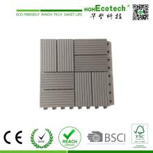 Штранг-прессования WPC, древесно-полимерного композита Проектированный настил WPC настил плитки 30