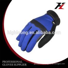 Larga vida de servicio Micro fibra OEM guantes industriales