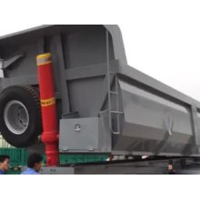 Carbon Steel U Shape Dumper Semi Trailer