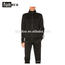 Homens esporte vestido preto conjuntos de corrida casaco e calça conjuntos para meninos homens esporte vestido preto conjuntos de corrida casaco e calça conjuntos para meninos