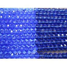 Синий круглый бусины ювелирные изделия бусины камни с отверстием