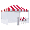 Streifen Pop Up Canopy 10x15ft Pavillon Store Zelt