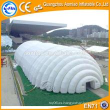 Tienda clara inflable que acampa, tienda transparente, carpa inflable para la venta