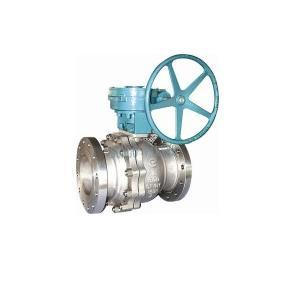 Pneumatik operator Floating Ball Valve