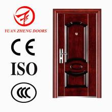 Puerta de hierro económica del color del nuevo modelo de madera
