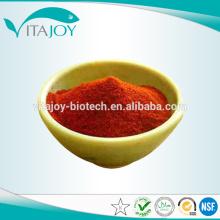 Le fabricant fournit le meilleur prix de la poudre rouge à haute pureté Canthaxanthine Beadlet 10% TAB Pour les comprimés et les capsules à coque dure