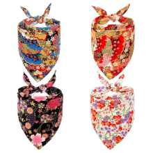 Dog Bandana Set 4 PCS