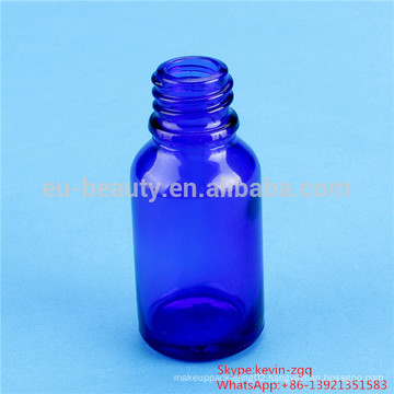 20ml essential oil bottles blue/green color