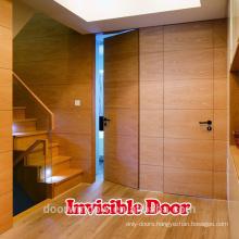Self closing wood invisible door