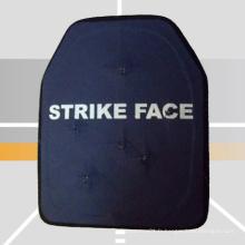 Plaque anti-balles en polyéthylène haute résistance légère