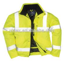 EN531 HV FR safety jacket with reflective tape