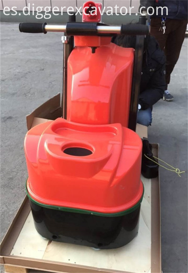 6 Heads Industrial Floor Polishing Machine
