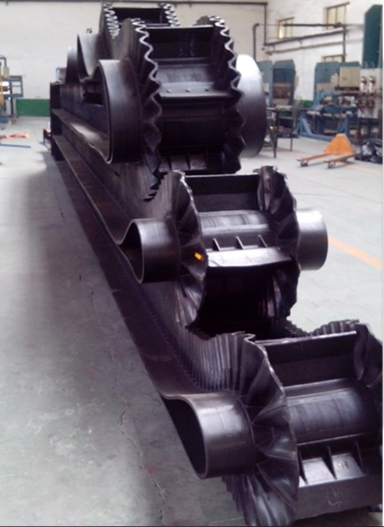 Sidewall Corrugated Cleat Conveyor Belt