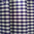 Popelín de algodón 100% tejido hilado teñido de tela para camisas/vestido Rls50-2po