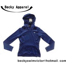 Men′s Blue Jacket with Cap