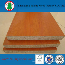 18mm Cherry Melamine Chipboard for Furniture