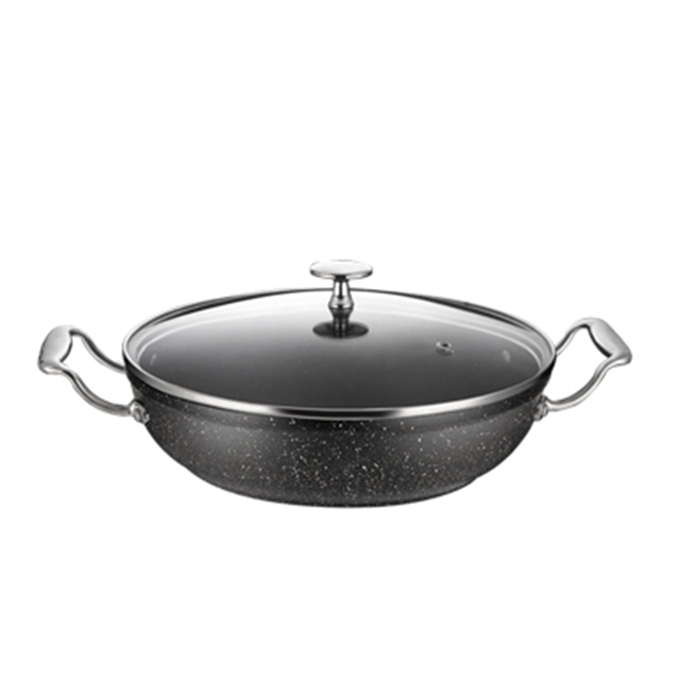High Quality Cheaper 20cm Thermal Cookware Aluminum Casserole