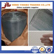Maille carrée de 8X8 / maille carrée de 0.5mm / usine de grillage carrée