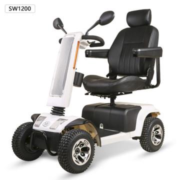 Stabiler Solarpanel-Rollstuhl