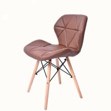 Chaise en plastique avec revêtement en PU
